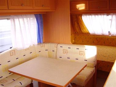 Casas moviles duque granada - Interior caravana ...