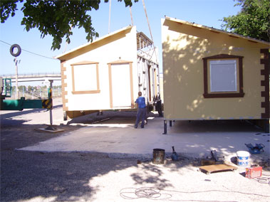 Transporte y colocacion de casa prefabricada movil granada - Casas modulares moviles ...